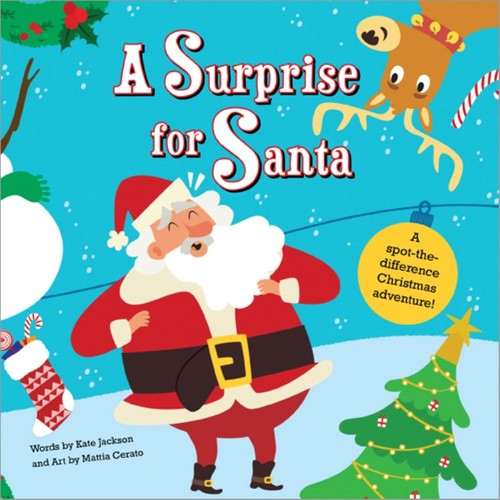 A Surprise for Santa: A spot-the-difference Christmas adventure!
