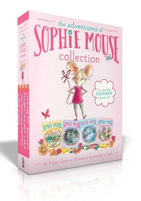 Adventures of Sophie Mouse Collection: A New Friend; The Emerald Berries; Forget-Me-Not Lake; Looking for Winston (Boxed Set)