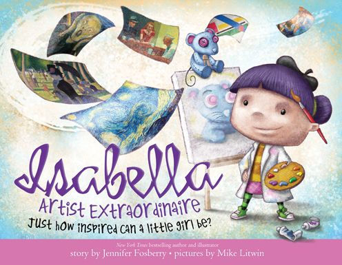 Isabella, Artist Extraordinaire