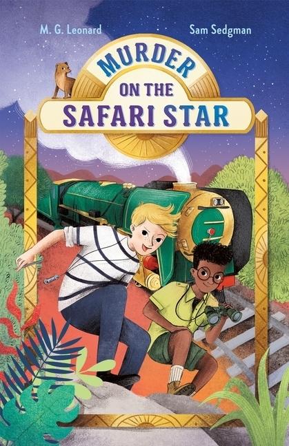 Murder on the Safari Star book