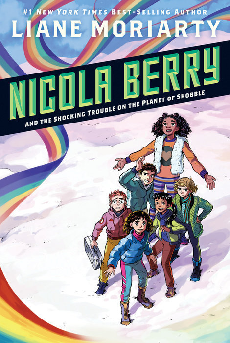 Nicola Berry and the Shocking Trouble on the Planet of Shobble