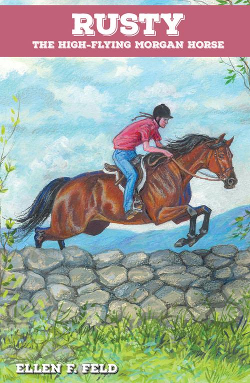 Rusty: The High-Flying Morgan Horse