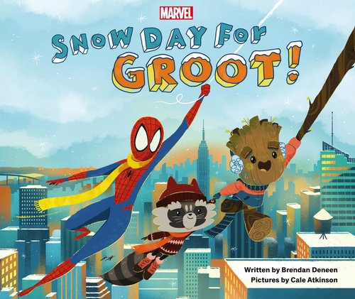 Snow Day for Groot!