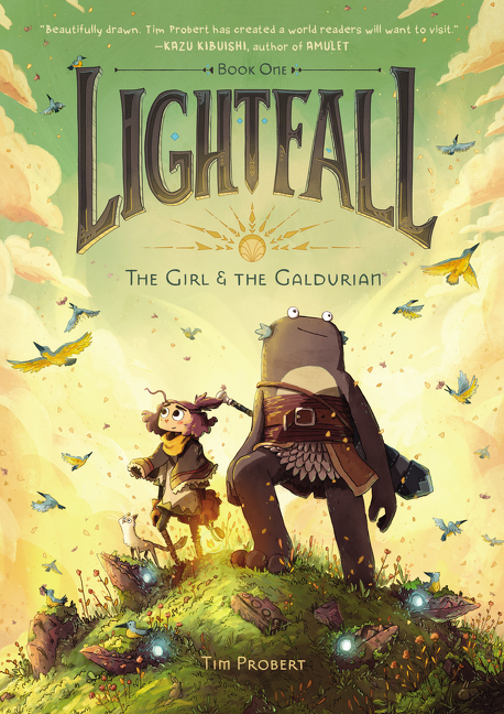 The Girl & the Galdurian