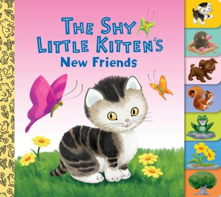 The Shy Little Kitten's New Friends