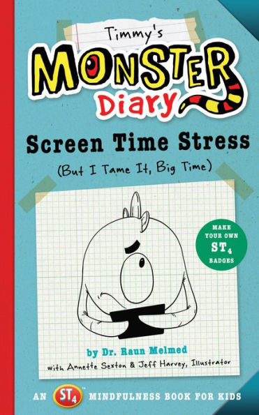 Timmy's Monster Diary: Screen Time Stress