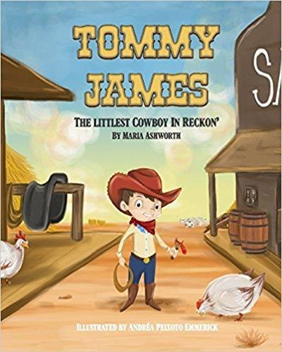 Tommy James the Littlest Cowboy in Reckon