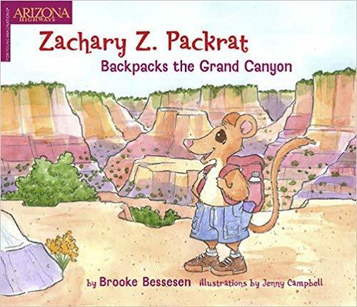Zackary Z Packrat Backpacks the Grand Canyon