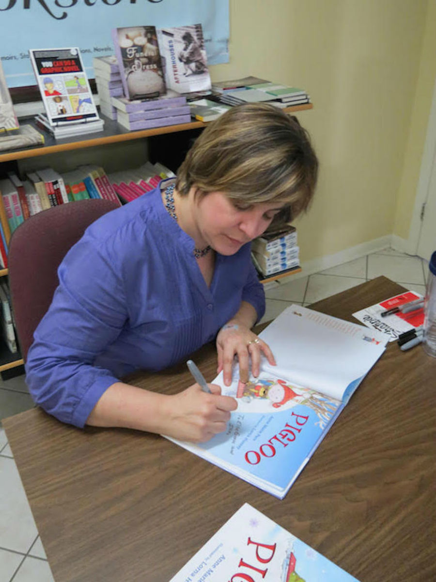 Children's Book Author Anne Marie Pace