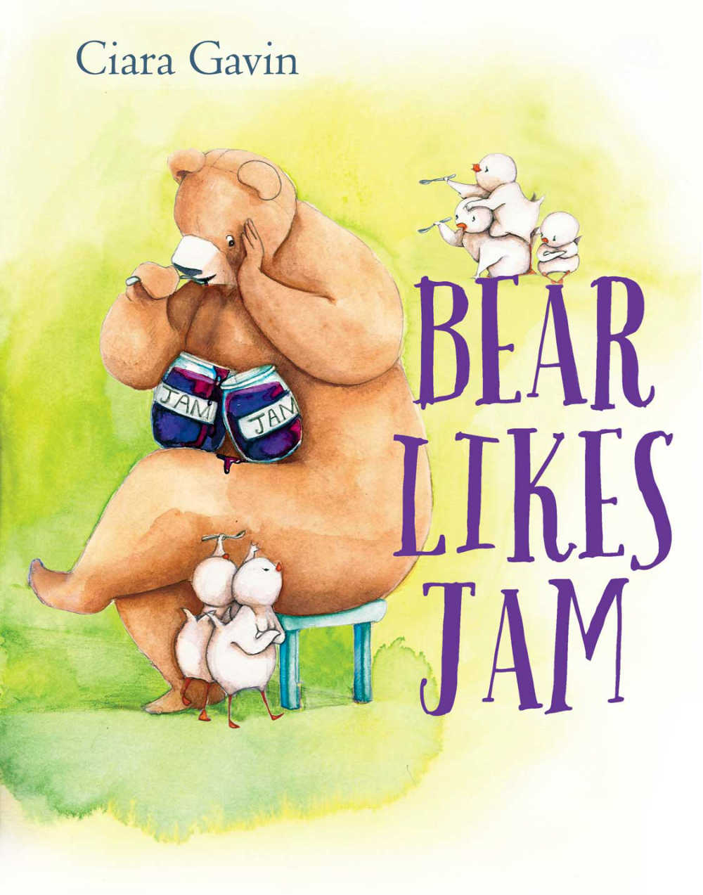 Children's Book Bear Loves Jam