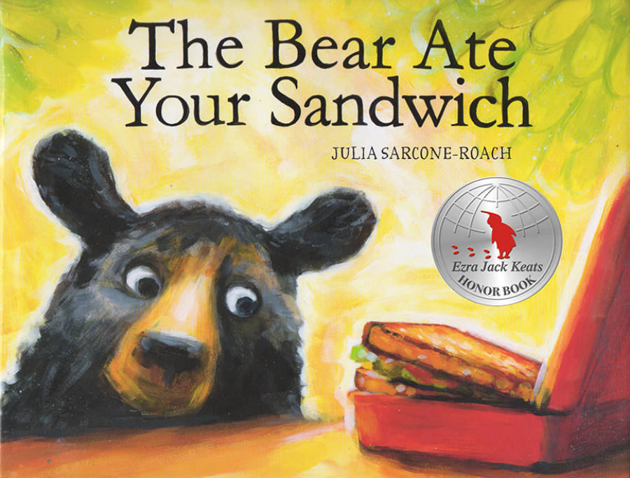 Children's Book The Bear Ate Your Sandwich