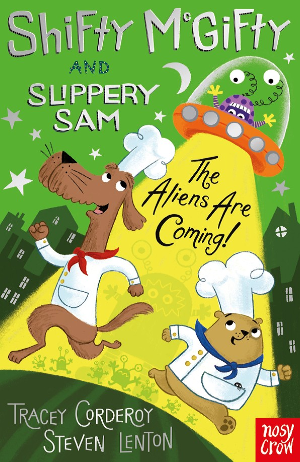 Children's Book Shifty McGifty and Slippery Sam: The Aliens Are Coming! by Tracey Corderoy