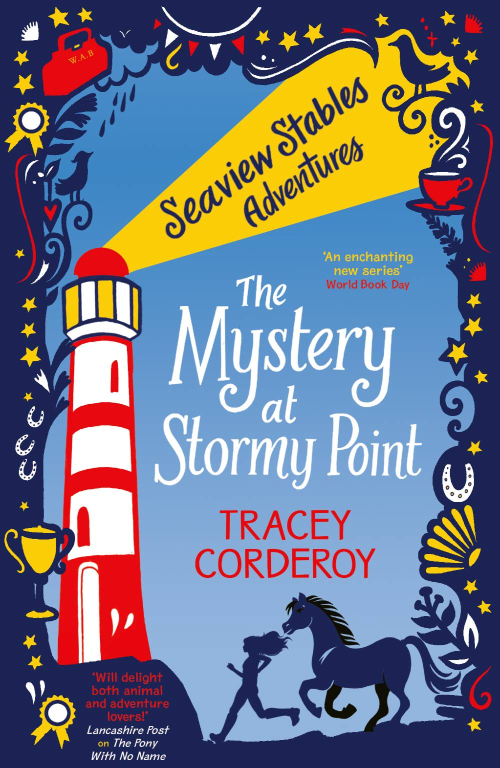 Children's Book Seaview Stables: The Mystery at Stormy Point by Tracey Corderoy
