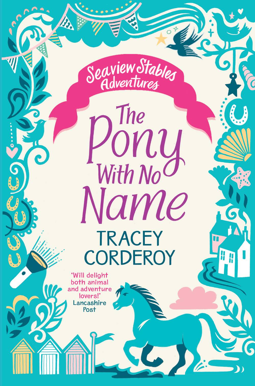 Children's Book Seaview Stables: The Pony with no Name by Tracey Corderoy