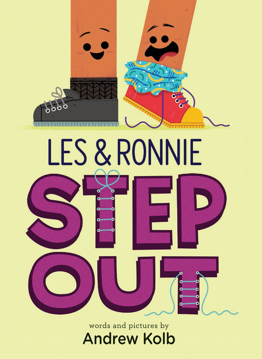 Children's Book Les & Ronnie Step Out