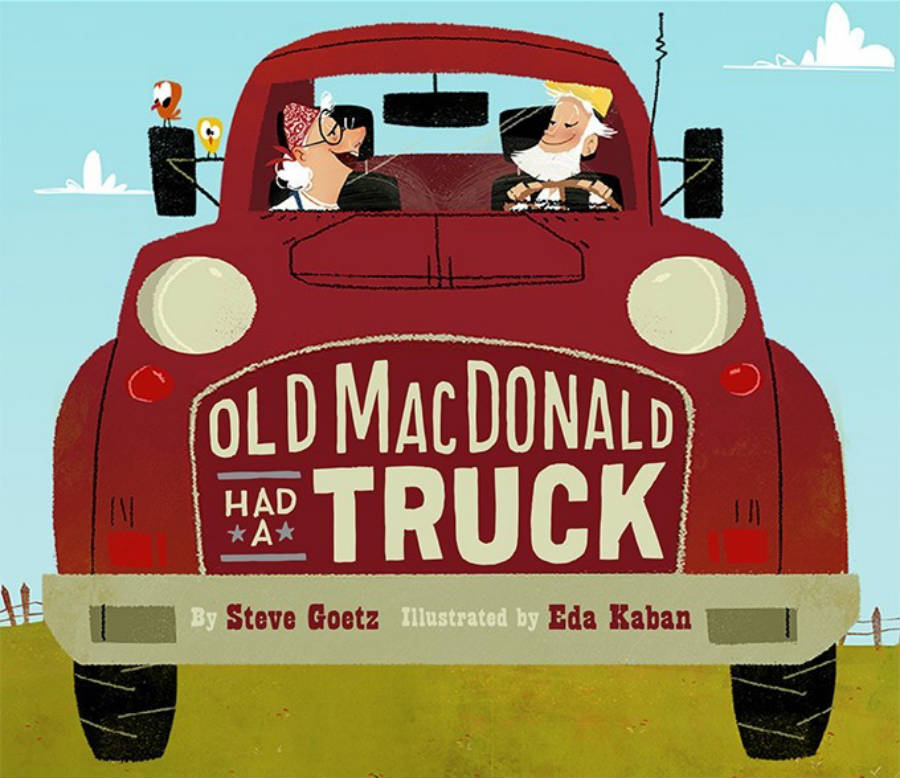 Children's Book Old MacDonald Had a Truck
