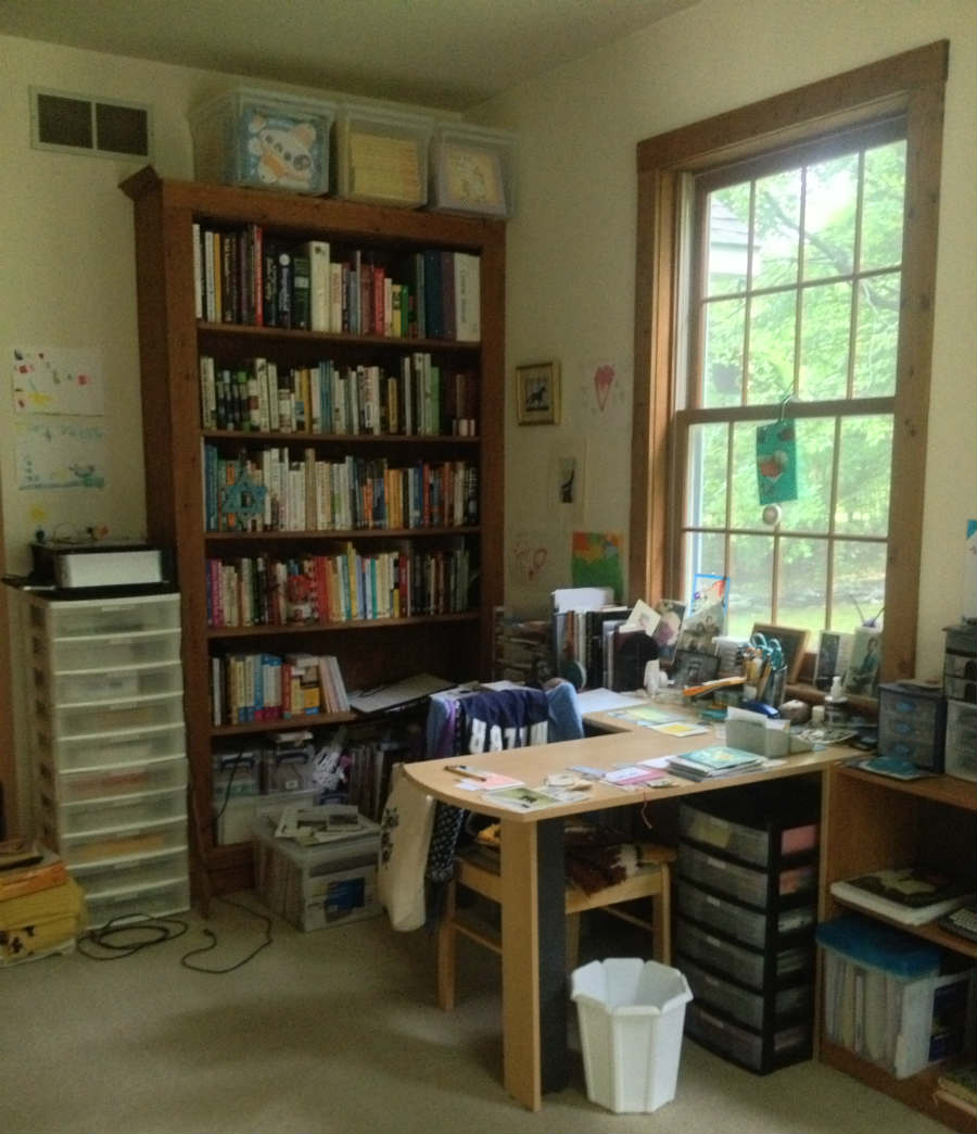 Children's book author Susanna Hill's creative space
