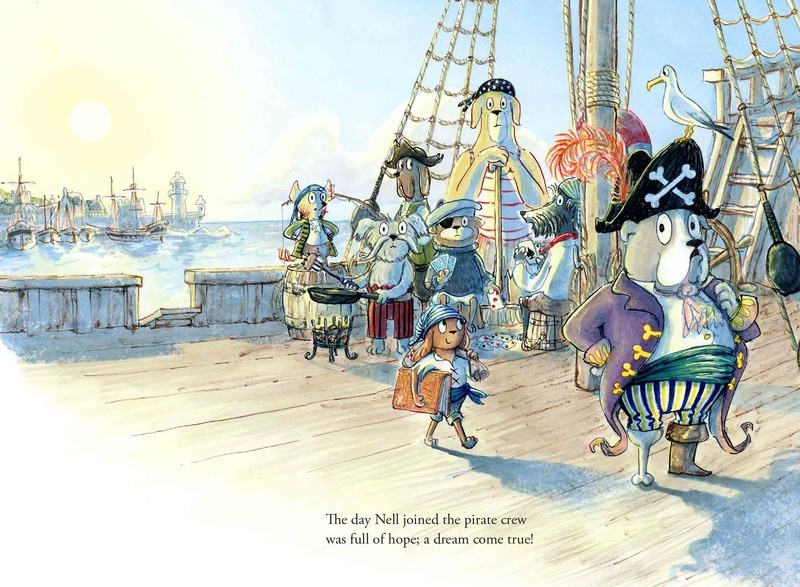 The day Nell joined the pirate crew