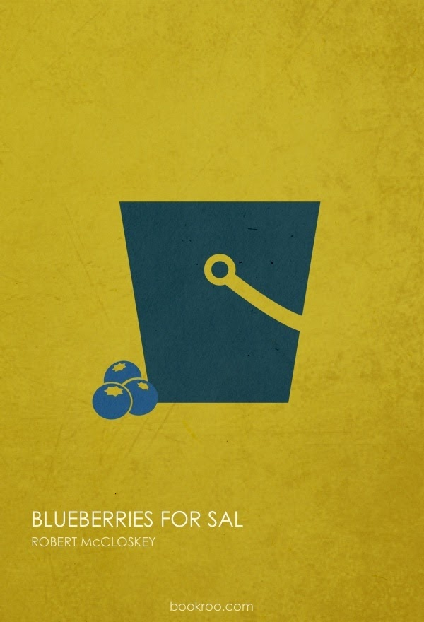 Poster of Blueberries for Sal