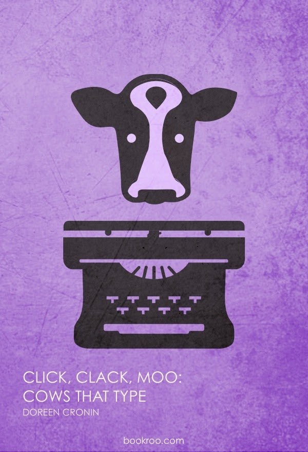 Poster of Click, Clack, Moo: Cows That Type