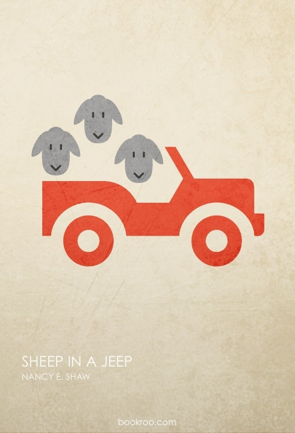 Poster of Sheep in a Jeep