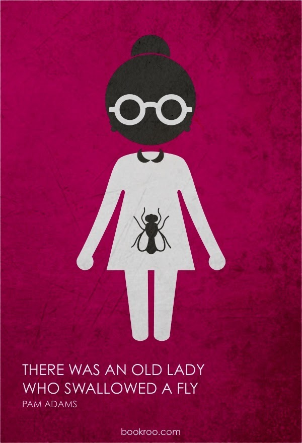Poster of There Was An Old Lady Who Swallowed a Fly