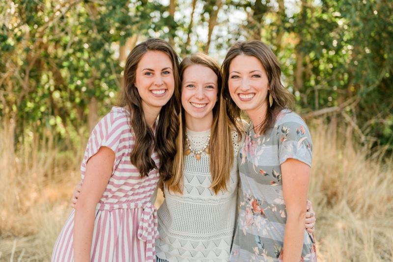 Rebecca, Jane, and Tiffany