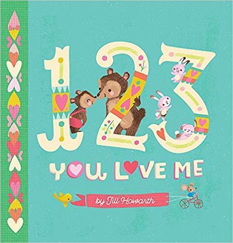 1-2-3, You Love Me book
