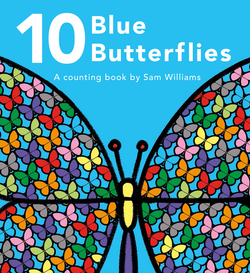 10 Blue Butterflies book