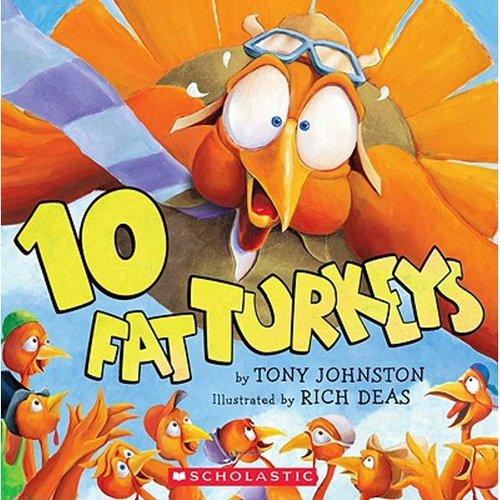 10 Fat Turkeys book
