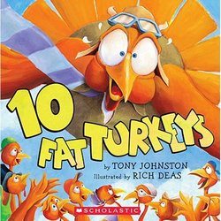10 Fat Turkeys book