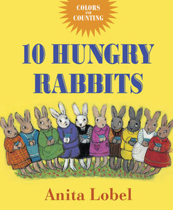 10 Hungry Rabbits book