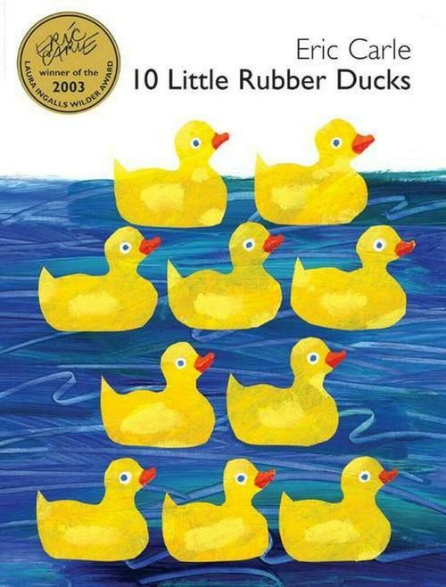 10 Little Rubber Ducks book