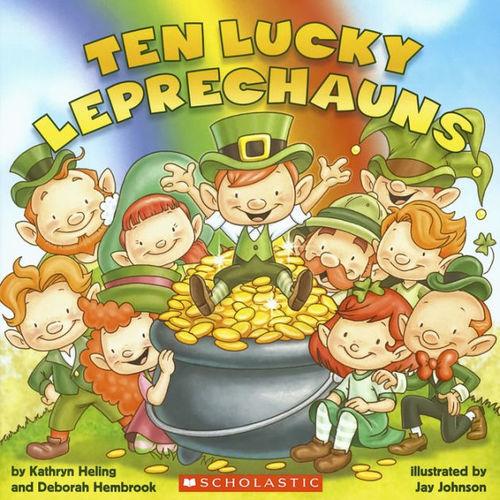10 Lucky Leprechauns book