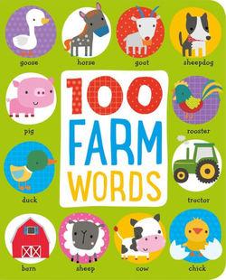 100 Farm Words book