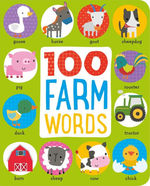 100 Farm Words book