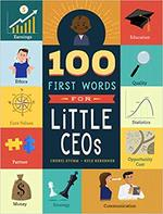 100 First Words for Little CEOs book