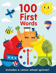 100 First Words book