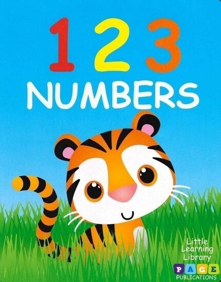 123 Numbers book