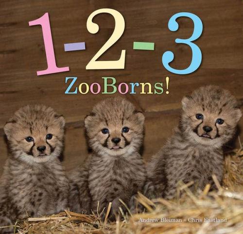 1-2-3 ZooBorns! book