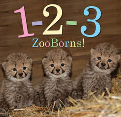 1-2-3 ZooBorns! book
