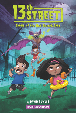 13th Street: Battle of the Bad-Breath Bats book
