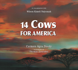 14 Cows for America book