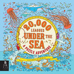 20,000 Leagues Under the Sea: a Puzzle Adventure book