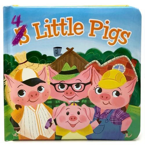4 Little Pigs book