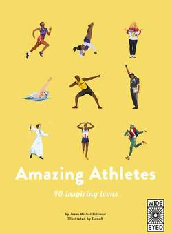 40 Inspiring Icons: Amazing Athletes book