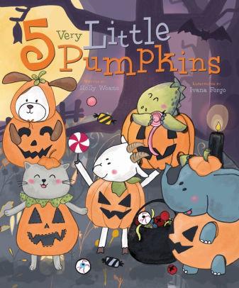 5 Very Little Pumpkins book