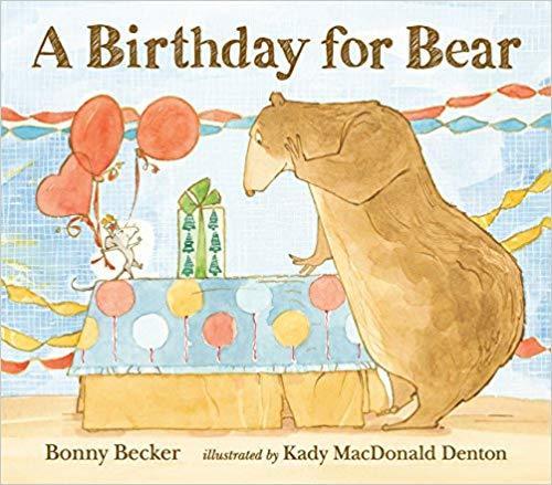 A birthday for Bear book