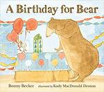 A birthday for Bear book