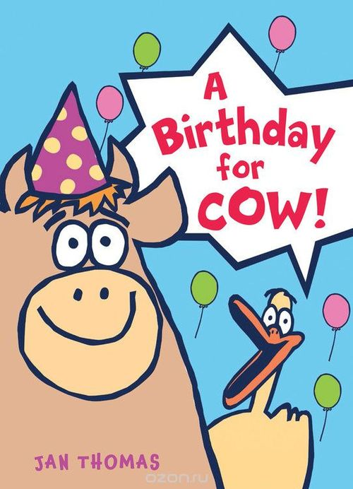 A Birthday for Cow! book